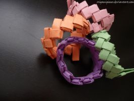 Origami Bracelet by OrigamiPieces