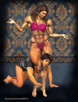 Married to Muscle_Head Games by MichelleLeRainbow