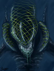 Grid Alien by Rufinator