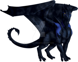 Commission: Blue Nimith - Adult by Sobuharten