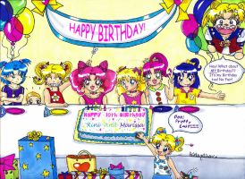 10TH BIRTHDAY PARTY by Magical-Mama