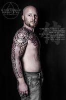 Armor of the East tattoo by Peter Blackhand by Meatshop-Tattoo