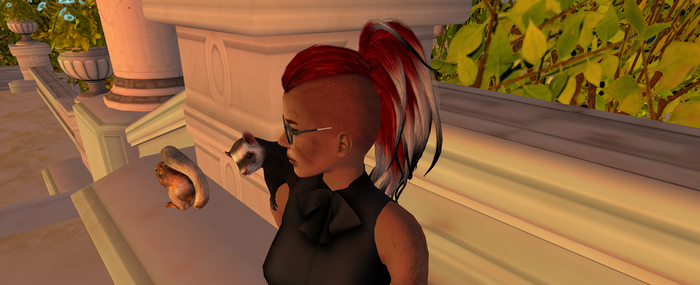 Second Life toon by ArielView