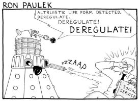 Ron Paul: Dalek Edition by RednBlackSalamander
