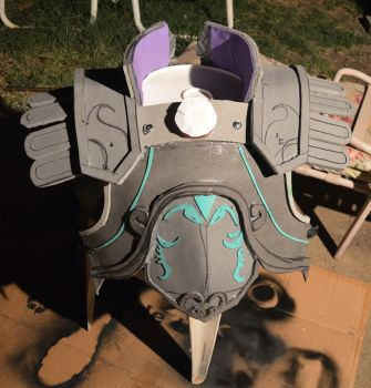 Making the Ganondorf armor 2 by jaredjlee