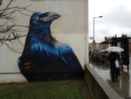 Prtichards Road Crow. Hackney. London. by Boe-art