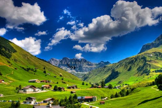 summer in the alpen by madayu