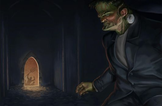 Frankenstein's Monster by Davy-Art
