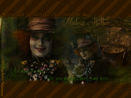 Mad as a Hatter by PsychoticDemoness