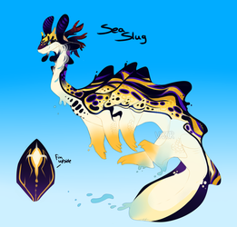 Sea Slug Adopt -Closed- by VAZ0R