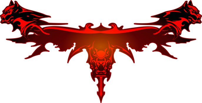 Dirge of Cerberus: Final Fantasy VII logo by eldi13