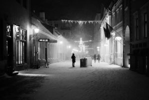 snowstorm in old town 4 by dzorma