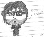 Chibi Jarvis by girlwitharubbersoul