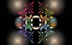 colourful rings and bubbles by Andrea1981G