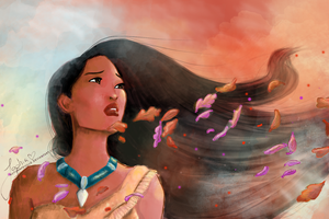 Pocahontas by autumnfeuille