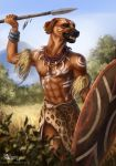 African warrior by Azany