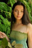 Rosie - green on green 3 by wildplaces