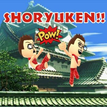 Mii SHORYUKEN!!  by AngelofGoddessAplis