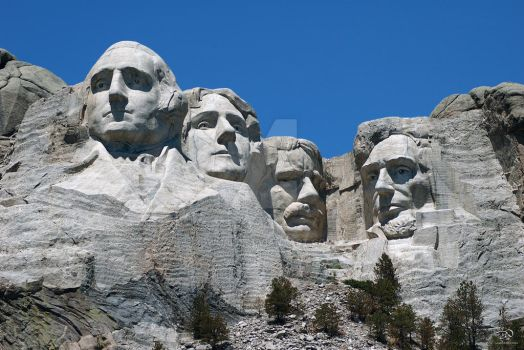 Mount Rushmore by dworld