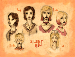 Silent Hill 1 2 3 by Fate-Lee