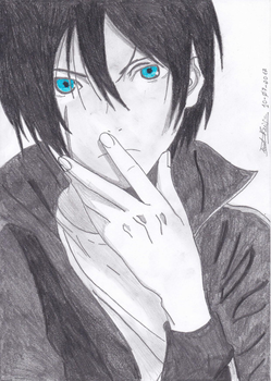 Yato the God from Noragami by Kyorem