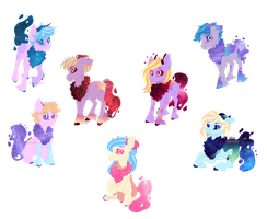 Galaxy Walkers Breed [Closed] by Adopterino