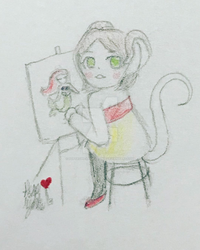 Baby Arty by poptropicangirlannie