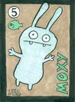 Artist Trading Card - Moxy #5 by tedbergeron
