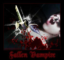 Fallen Vampire by nvrexisted