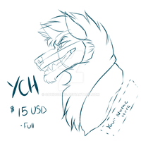 YCH BADGE : Closed: by SquidS0cks
