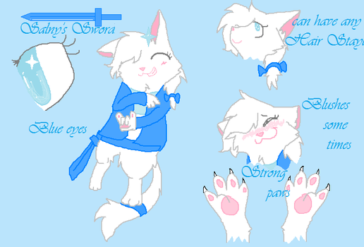 My Ref by SalnyTheCat