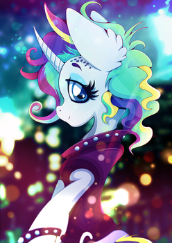 It Isn't the Mane Thing About You by Rariedash