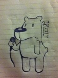 Grizzly Hip-Hop Logo (See Description) by SamMuleOden