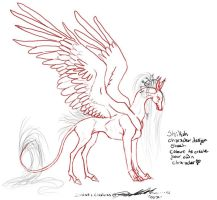 shirah lineart for you by moonfeather