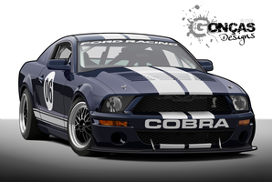 Shelby GT500 Mustang Cobra by carguy88