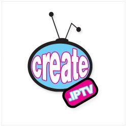 Create.IPTV Logo by reflectdesign