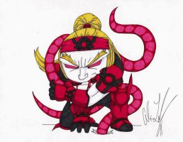 Red Lantern Omega Red by toonartist