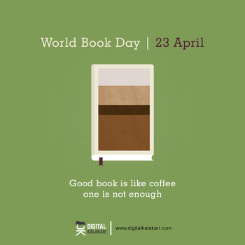 World Book Day | Poster Design by digitalkalakari