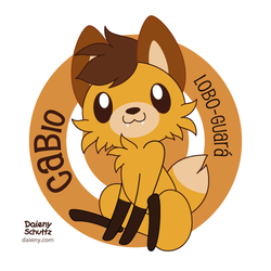 CaBio Maned Wolf by Daieny