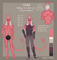 Ref: Valek by mintysoup
