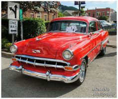 A 1954 Chevy Bel Air by TheMan268