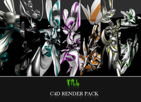 C4d render Pack by TheNaturaGrafic