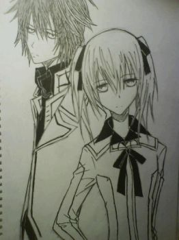 vampire knight shiki and rima by grimmjowxhollow