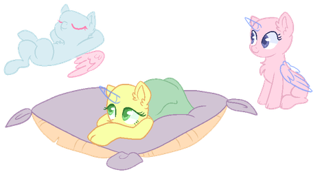 Chilling Bases by KittieBases