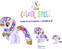 Life Stages of Colour Spell by MeganLovesAngryBirds
