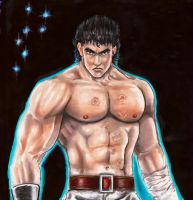Kenshiro -Man with Seven Scars by Kenshiro-FDP