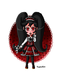 Gothic Lolita Ashley by ninpeachlover