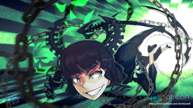 Black Rock Shooter - Dead Master by xenocracy