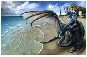 Dragon... what a title :B by Akima-Hawa-Nedegie