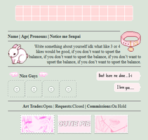 Pink | Non-Core Page Code by LunaYing